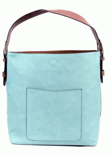 Joy Susan Classic Ocean Hobo Handbag with Cedar Crossbody
