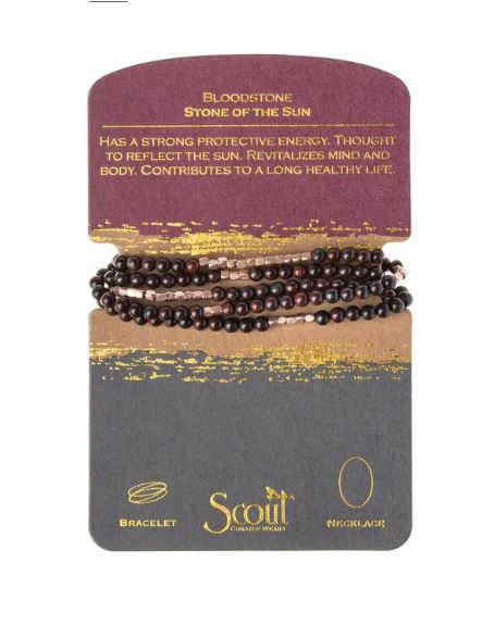 Scout Bracelet and Necklace Wrap