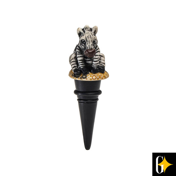 Add a bit of Africa to your wine collection or maybe buy it as a gift for a loved on. With our zebra themed bottle stoppers, each piece has been lovingly painted by hand to create an authentic piece of African Art.