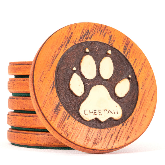 Footprints Animal coasters