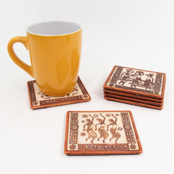 Coasters Love Africa - Tribal Sets