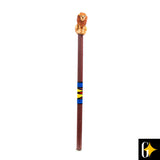 Top view of the lion pencil. Buy this African gift now.