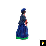 Small Herero Figure Blue