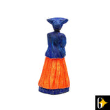 Small Herero Figure Orange
