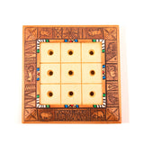 Tic Tac Toe - African Animals Elephant and Buffalo