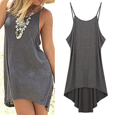 Backless Cover Up Dress