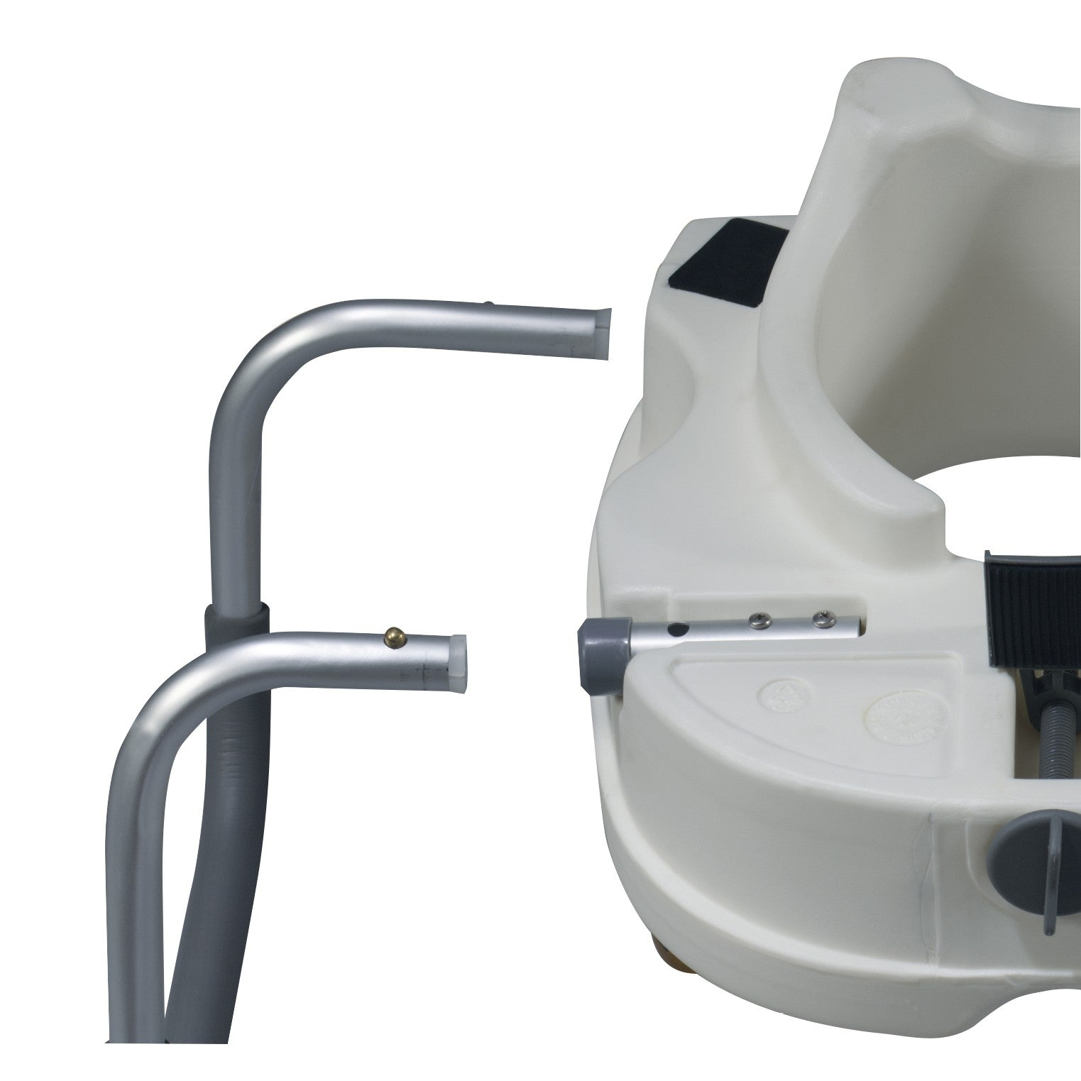 Drive Raised Toilet Seat With Arms.Raised Toilet Seat With Arms 5 Inch White 300 Lbs Drive Medical
