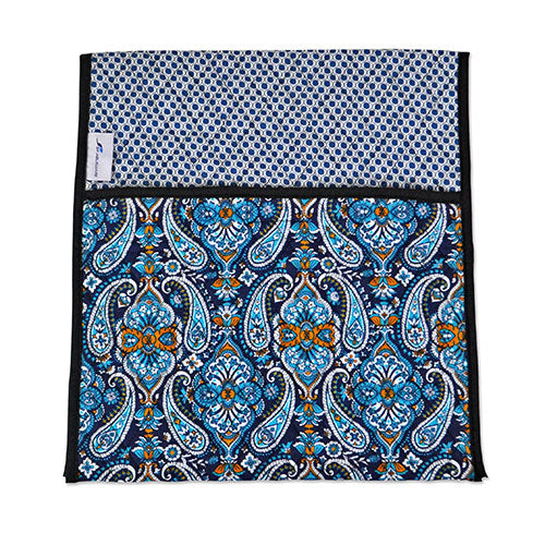 0fb0df826e0 Ableware Double-Sided Quilted Walker Tote Bag-Blue Print – American ...