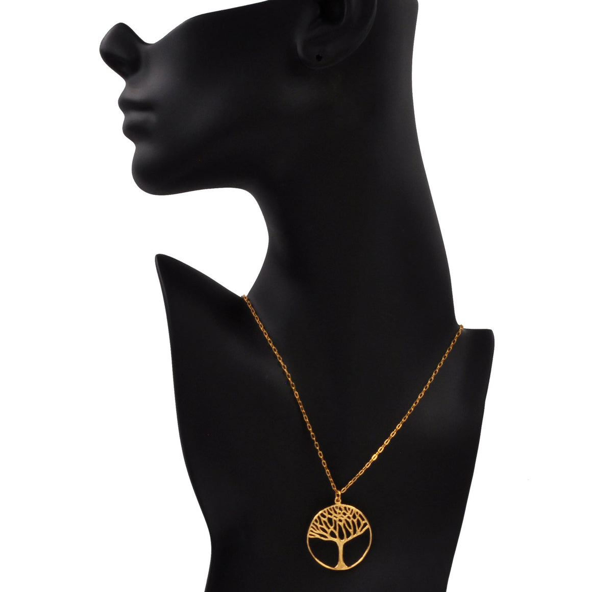 Tree of Life Necklace (Large) - 24K Gold Plated