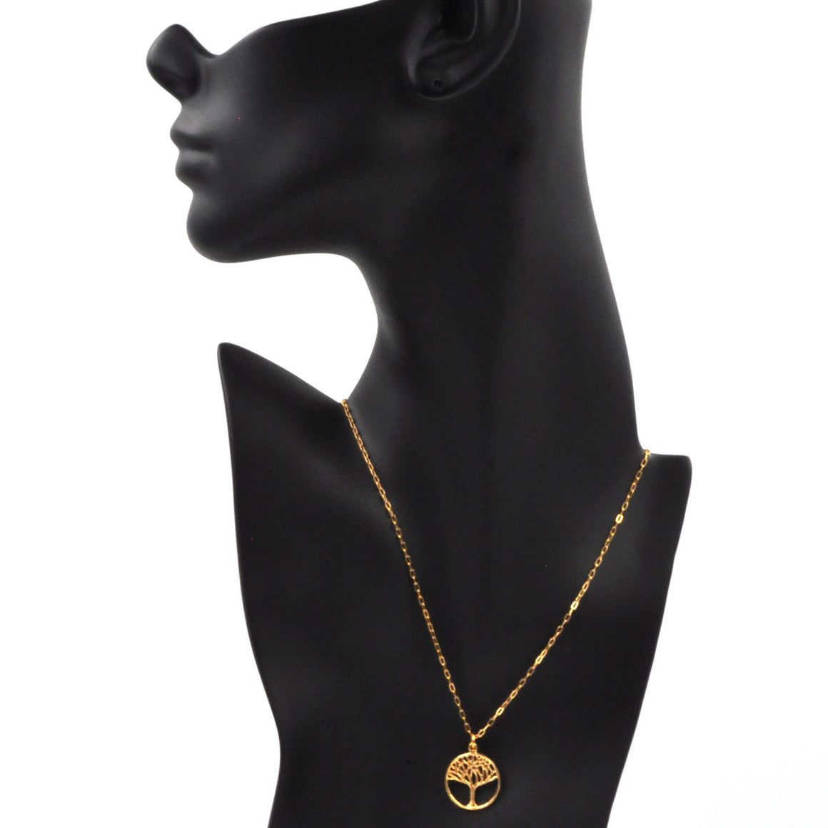 Tree of Life Necklace (Small) - 24K Gold Plated
