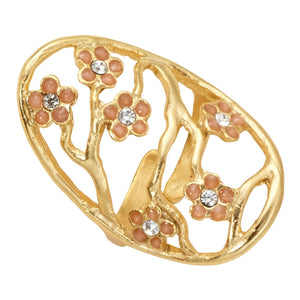 Cherry Blossom Ring - 24K Gold Vermeil