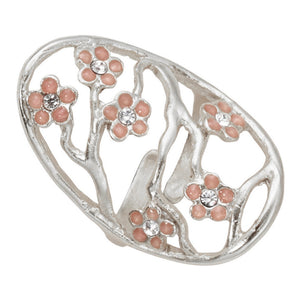 Cherry Blossom Ring - Sterling Silver