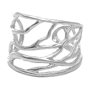 Intricate Branches Ring- Sterling Silver