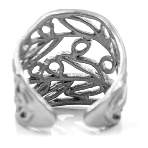Olive Branch Ring - Sterling Silver