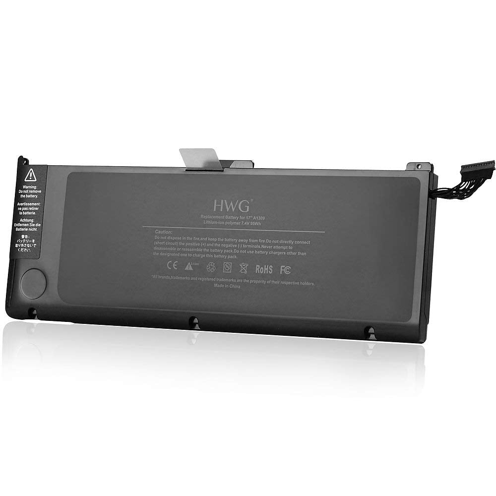 A1309 batterie pour ordinateur portable Apple MacBook Pro A1297 2009 mi-2010