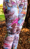 The ABC Leggings - Route 66 Print by B.A.I.T. WEAR