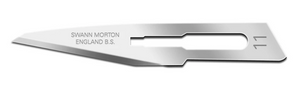 Swann Morton Carbon Steel Non Sterile Blades No.11 (Pack of 5)