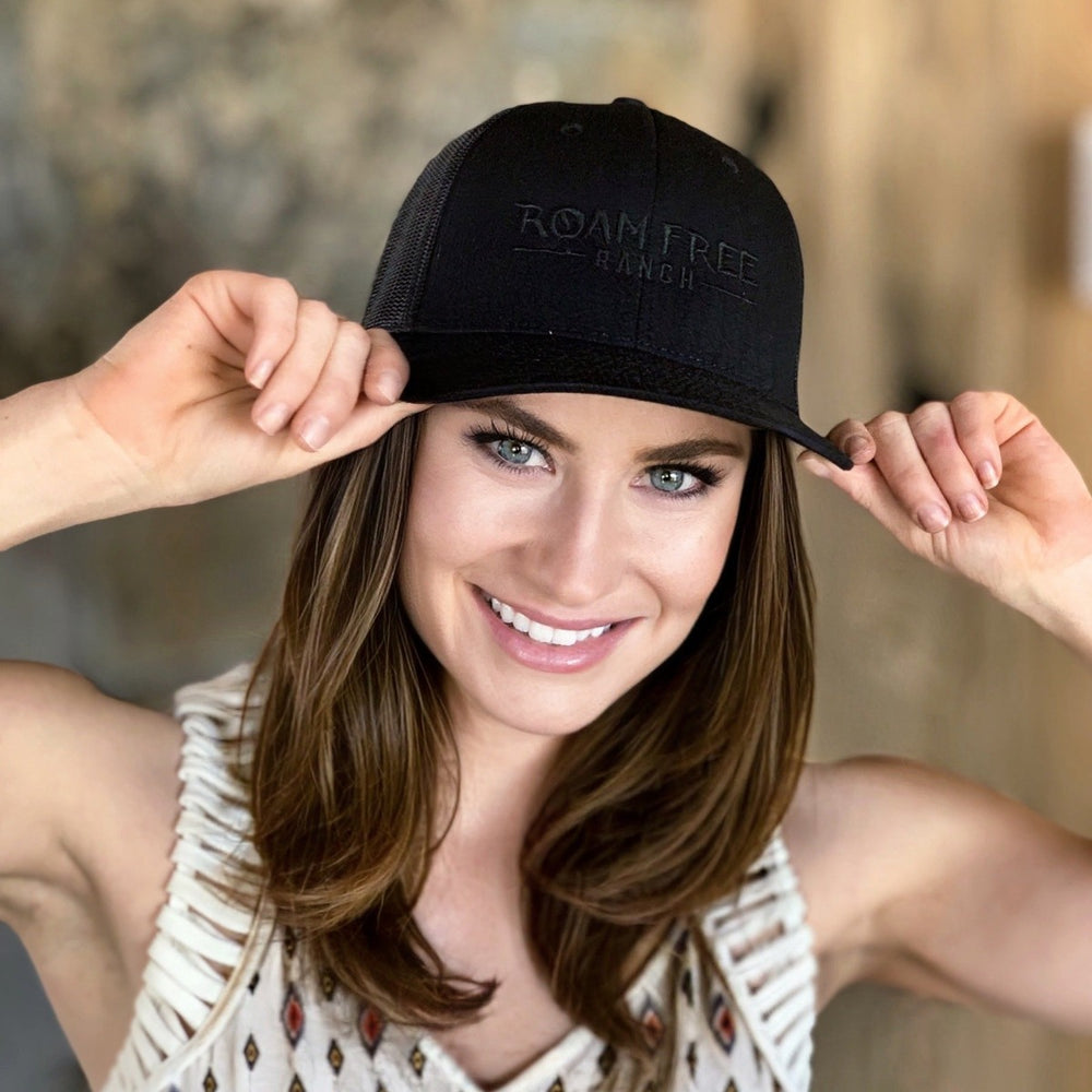 Roam Free Ranch - Blackout Bison Hat