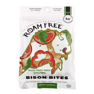 Bison Bites Wood Fired Pizza - Go Roam Free