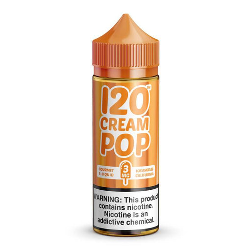 120 CREAM POP BY MAD HATTER JUICE 120ML