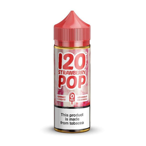 120 STRAWBERRY POP BY MAD HATTER JUICE 120ML