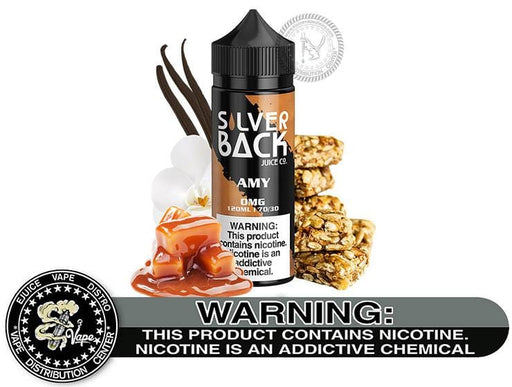 Amy be SilverBack 120ML E-Liquid