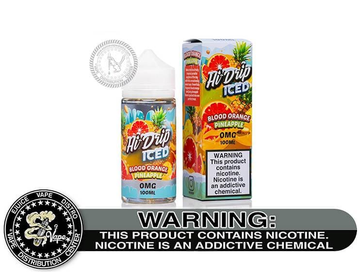 Blood Orange Pineapple Iced by Hi-Drip 100ML