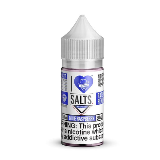I Love Salts Blue Raspberry By Mad Hatter Juice 30ML