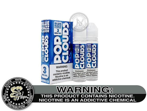 Blue Razz Candy by Pop Clouds 120ML