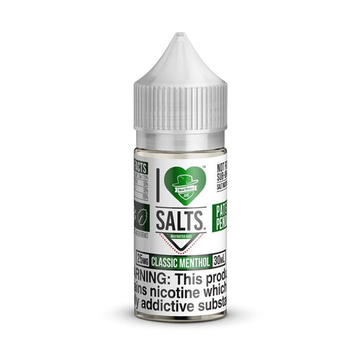 I Love Salts Classic Menthol By Mad Hatter Juice 30ML