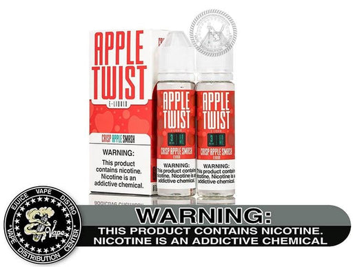Crisp Apple Smash by Apple Twist 120ML