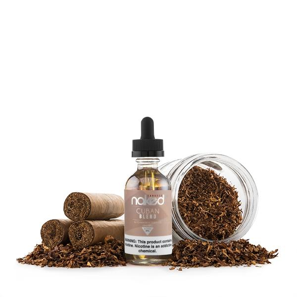 NAKED 100 | Cuban Blend Tobacco 60ML E-Liquid