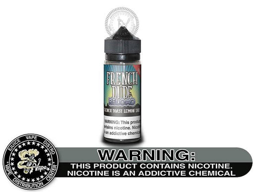 French Dude Reload Lemon Tart by Breakfast Classics 120ML