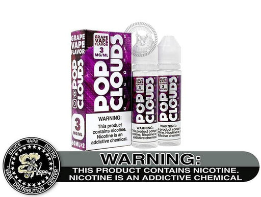 Grape Vape by Pop Clouds 120ML