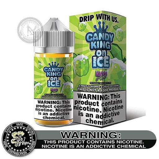 Green Apple Hard Candy On Ice by Candy King 100ML