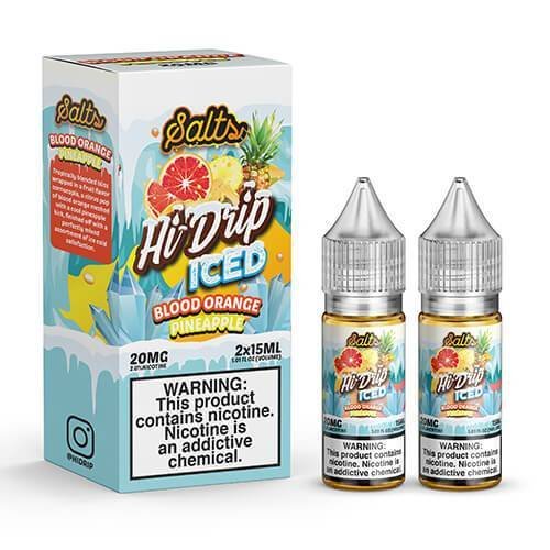 Island Orange Pineapple Iced Salt by Hi-Drip Salts 2x15ML 30ML