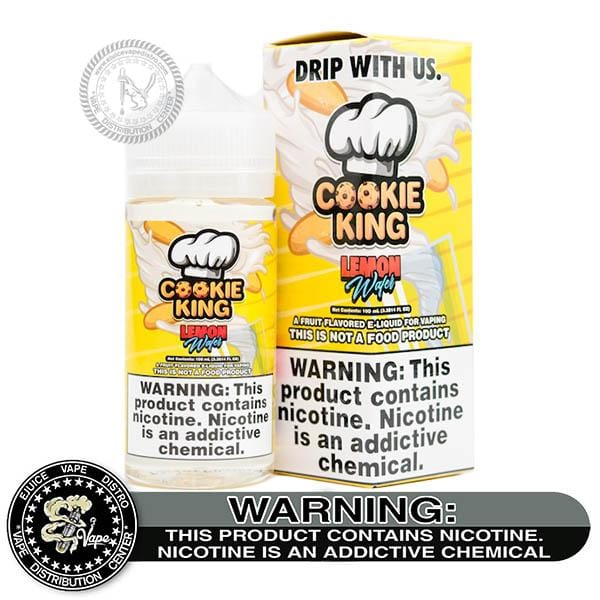 Lemon Wafer by Cookie King 100ML