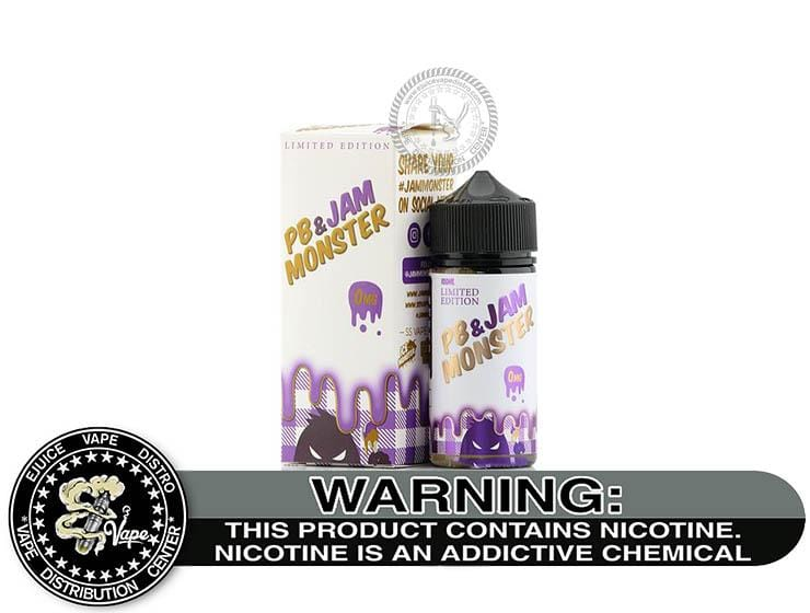 PB & Jam Grape by Jam Monster 100ML