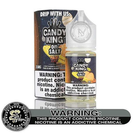 Peachy Rings by Candy King on Salt 30ML