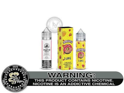 Strawberry Donut by Marina Vape 60ML