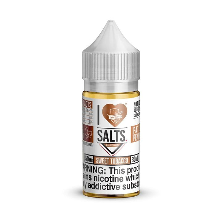 I Love Salts Sweet Tobacco By Mad Hatter Juice 30ML
