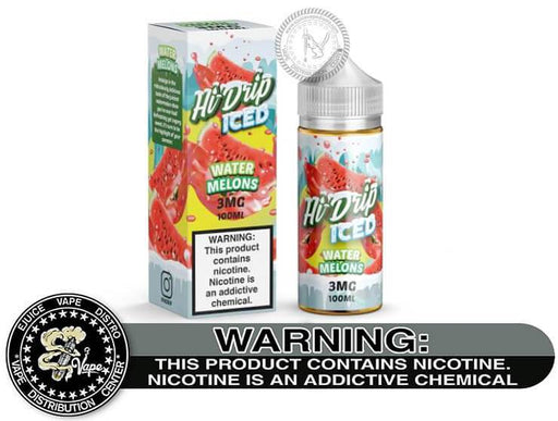 Water Melons Iced by Hi-Drip 100ML