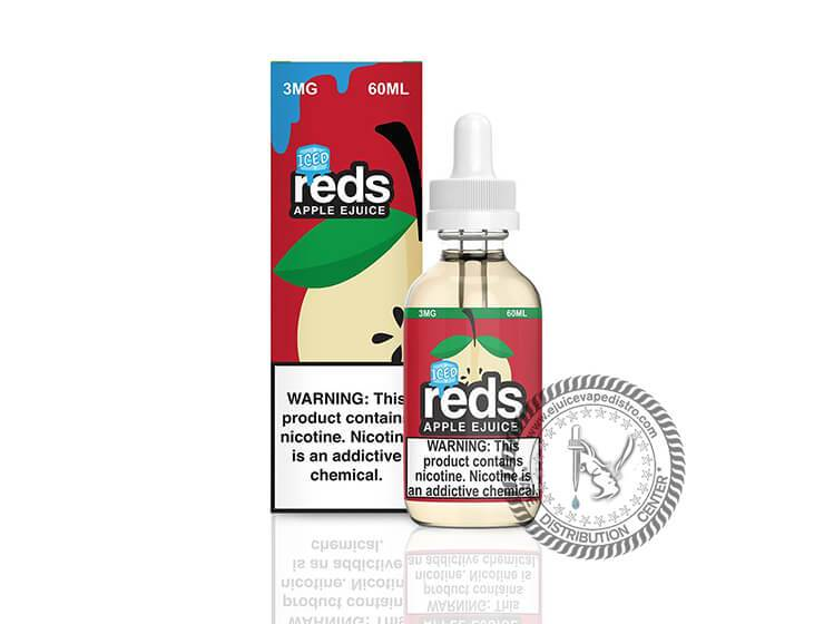 7 Daze | Reds Apple Ice 60ML E-liquid