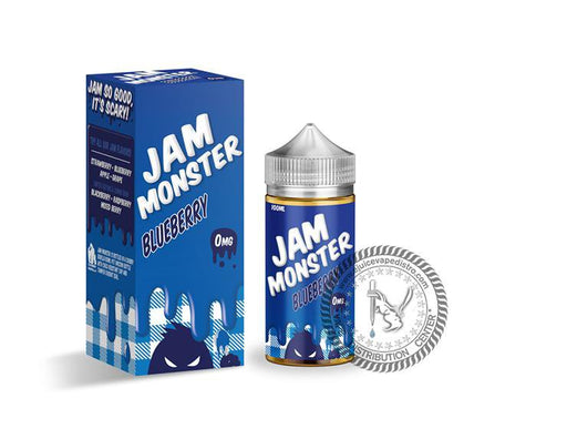 JAM MONSTER | Blueberry Jam 100ML E-liquid