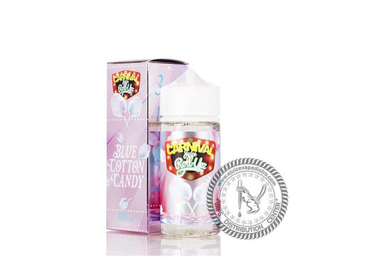 Blue Cotton Candy by Juice Roll Upz Carnival 100ML