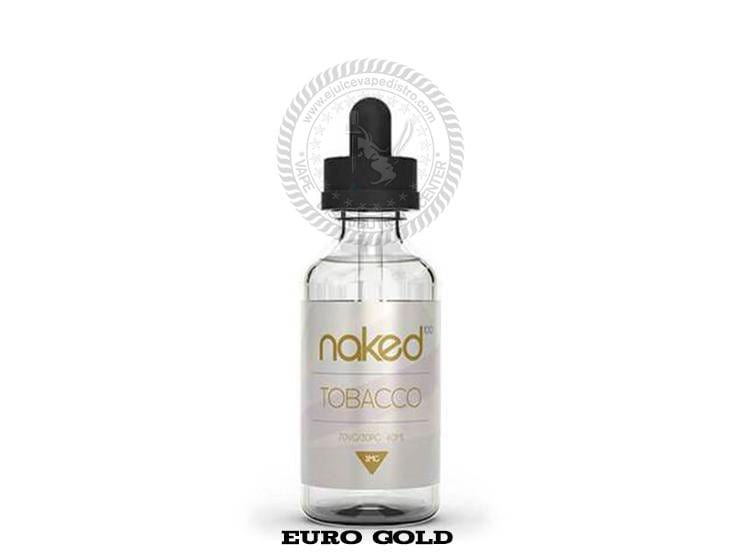NAKED 100 | Euro Gold Tobacco 60ML E-Liquid
