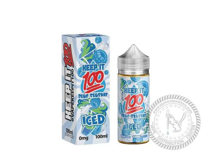 Keep it 100 | Blue Slushie Ice 100ML E-liquid