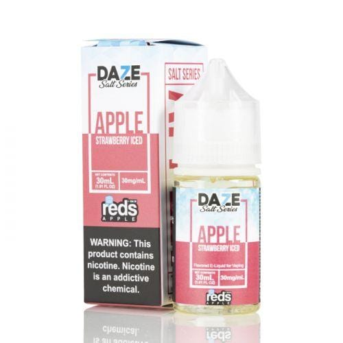 Reds Apple Strawberry Iced Salt by 7 Daze Salt Series 30ML