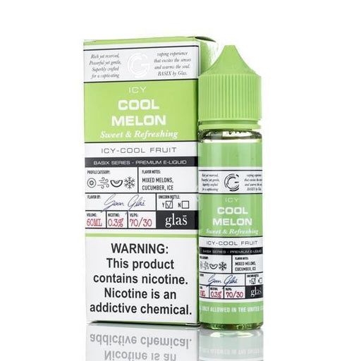 Icy Cool Melon by Glas Basix Series 60ML