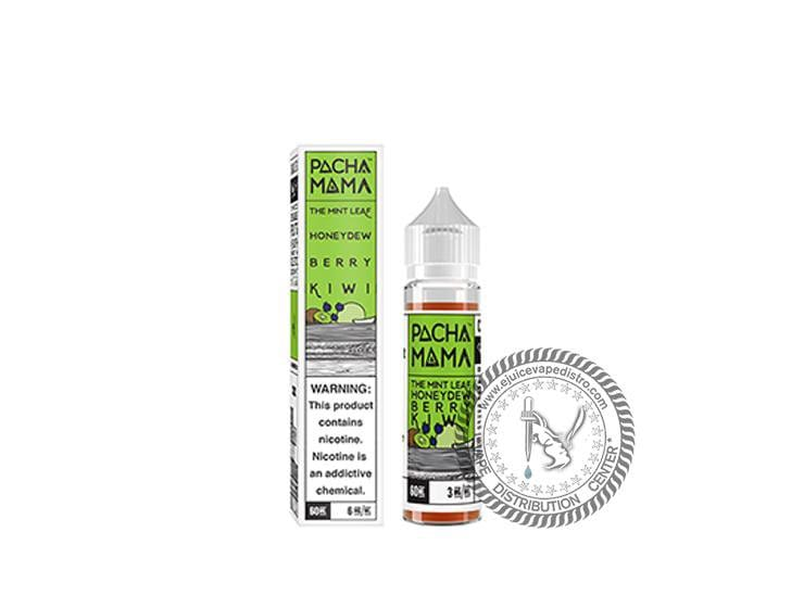 Pacha Mama | Mint Leaf Honeydew Berry Kiwi 60ML E-Liquid